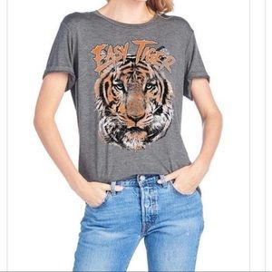 Easy Tiger Women's Tiger Graphic Tee Short Sleeves